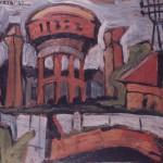 1947 Macerie a Porta a mare oliotela 39x45
